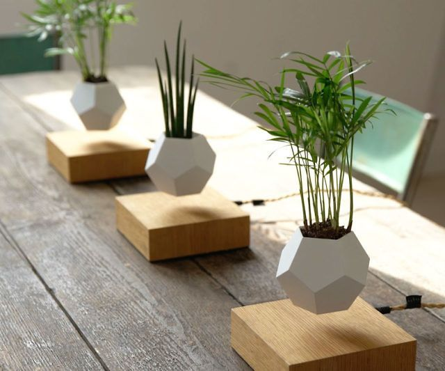 Attractive Cool Office Gadgets Part - 13: ... Growing System That Allows You To Cultivate Your Favorite Plants In  Mid-air. A Set Of Magnets In The Base And In The Geodesic Potu2026 (Cool Gadgets  House)
