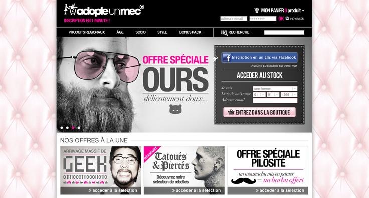Adopteunmec version web