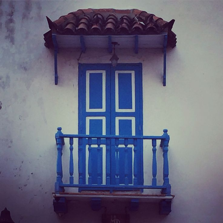 Pintoresco Balcon Colonial #cartagena #colombia