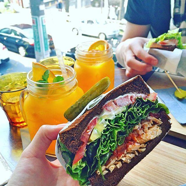 "King George / 代官山 in Daikanyama . Sandwich Cafe. インスタ""いいね""は確実!SNS映えする「極厚サンドイッチ」東京都内5選 | RETRIP"