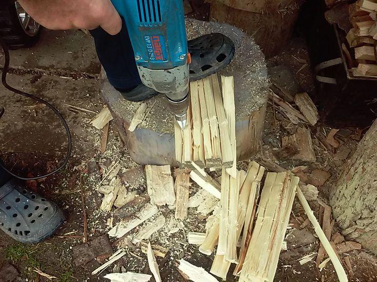 Kegelspalter für bohrmaschine, Kegel für bohrmaschine, Drillkegel für bohrmaschine, Holzspalter für bohrmaschine, Schneckespalter für bohrmaschine, Feuerholz, spalter, Ofenanzünder, Kaminanzünder, Drillkegelspalter für den akkuschrauber