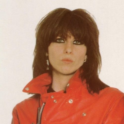 Chrissy Hynde...because you are the coolest rock n roll chick ever....