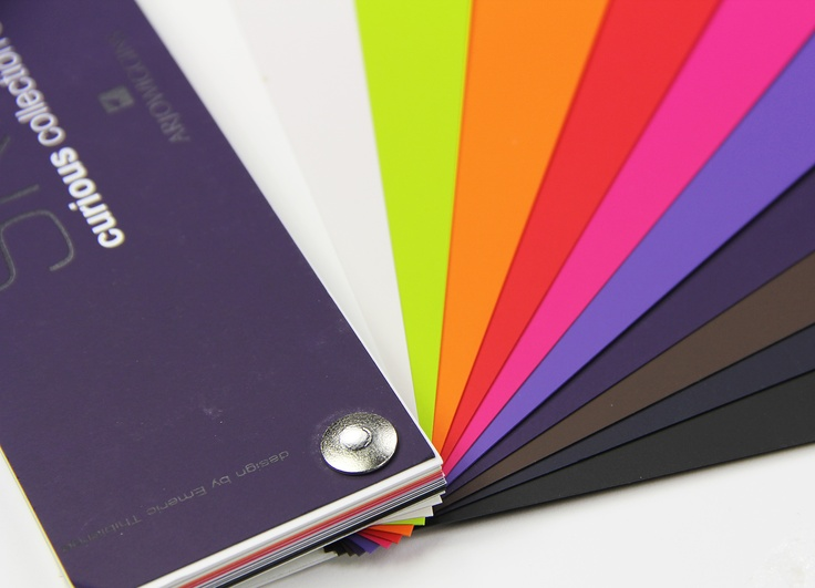 Colorful Curious Skin Paper Swatch - Super cool colors!