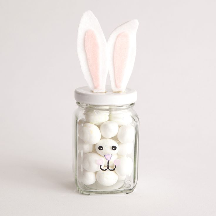 Fill with marshmallows in the kitchen, then cotton balls for the bathroom!