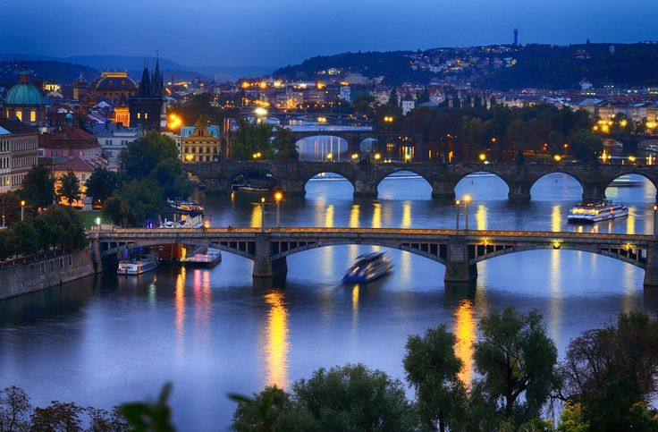 Prague accommodation | Hotels, Hostels, Pensions (Bed & Breakfast ...