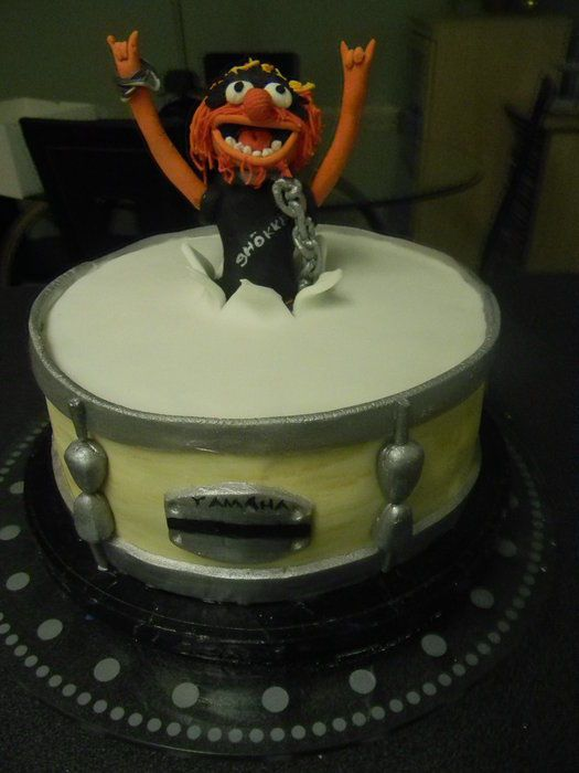 Animal Print Rock N Roll Birthday Cake 17 Posts And 1