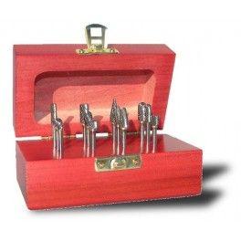 Carbide Burr SET AC, Single Cut - 310-110028 - $181.90