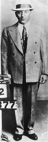 Louis 'Lepke' Buchalter. He would eventually die on the electric chair in Sing Sing prison c.1933