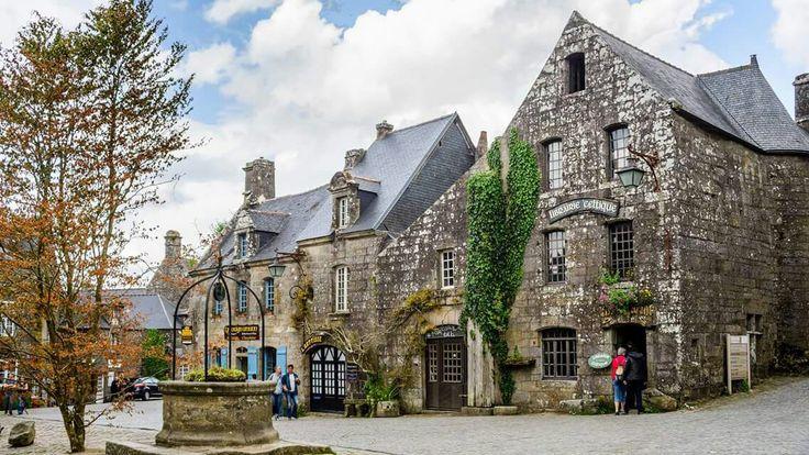 Locronan, Bretagne, France