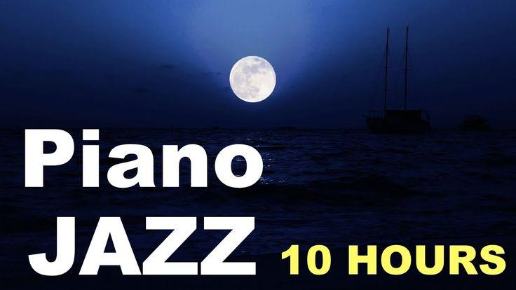 Piano Jazz & Jazz Piano: Moonlight Serenade (10 Hours of Best Smooth Jaz...