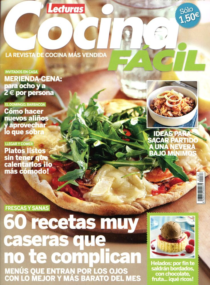 74 best aldizkariak revistas 2015 images on pinterest for Cocina facil