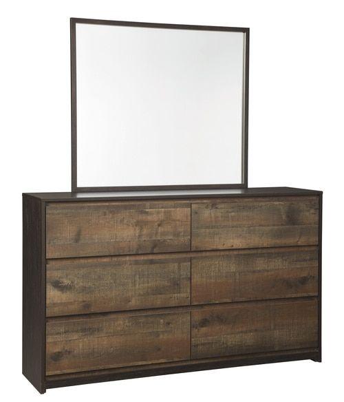 Windlore Dark Brown Bedroom Mirror (B320-36) in 2018 Bedroom