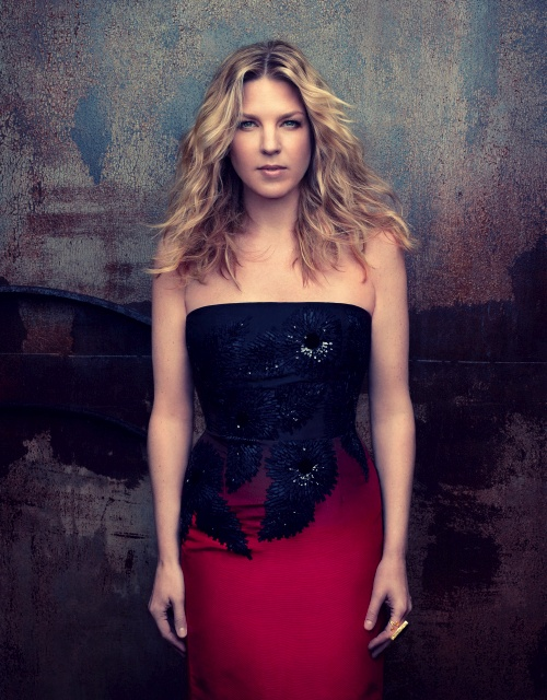 "I've locked my heart I'll keep my feelings there I've stocked my heart with icy,frigid air And I mean to care for no one Because I'm through with love (""I'm Through with Love"" Diana Krall)"