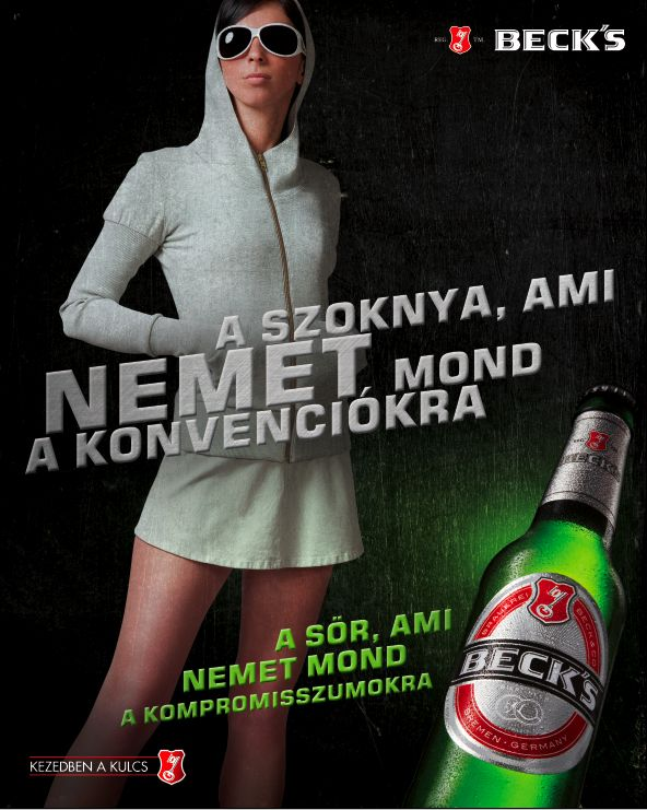 BECKS DIFFERENT BY CHOICE by UP Advertising , via Behance