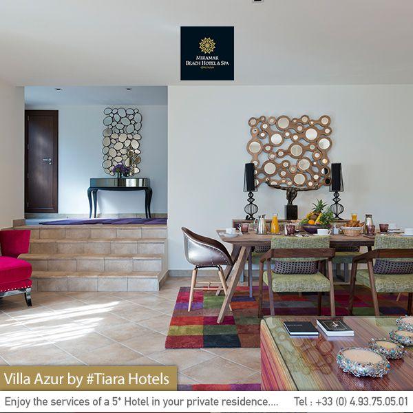 Our villa's unique design for an unparalleled stay near Cannes. La décoration unique de notre villa pour un séjour sans précédant à proximité de Cannes.
