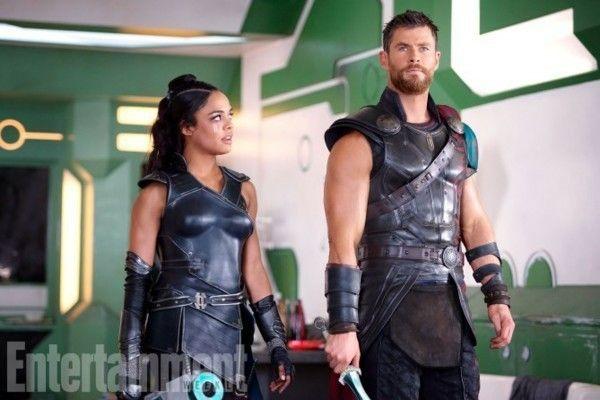 Thor: Ragnarok - Valkyrie and Thor