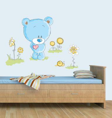 Decor personalizat cu ursuleti pentru camera copiilor