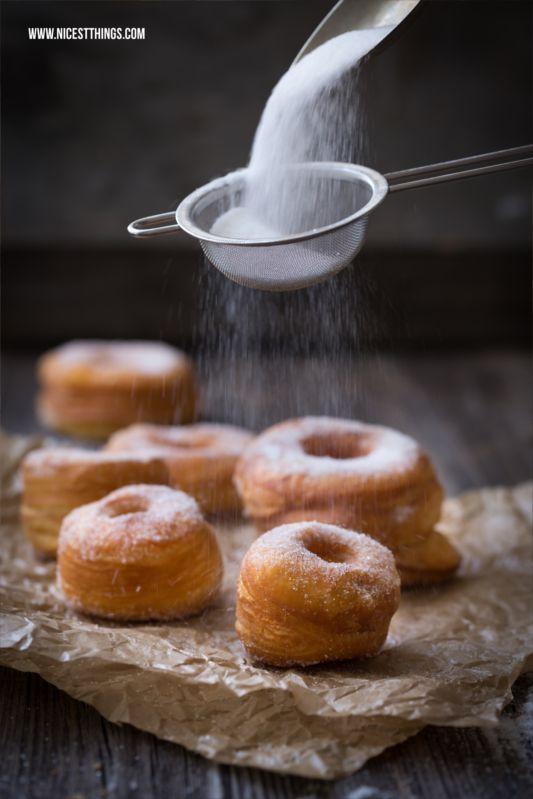 ... homemade cronut ...