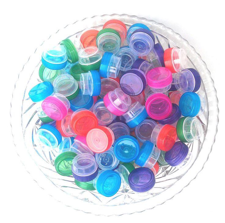 50 JARS DIY Craft posh wax Lip Gloss .25oz Container 1tsp #DecoJars 3301 USA New #DecoJars
