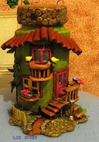 Botella decorada botellas decoradas pinterest clay for Pintura para tejas