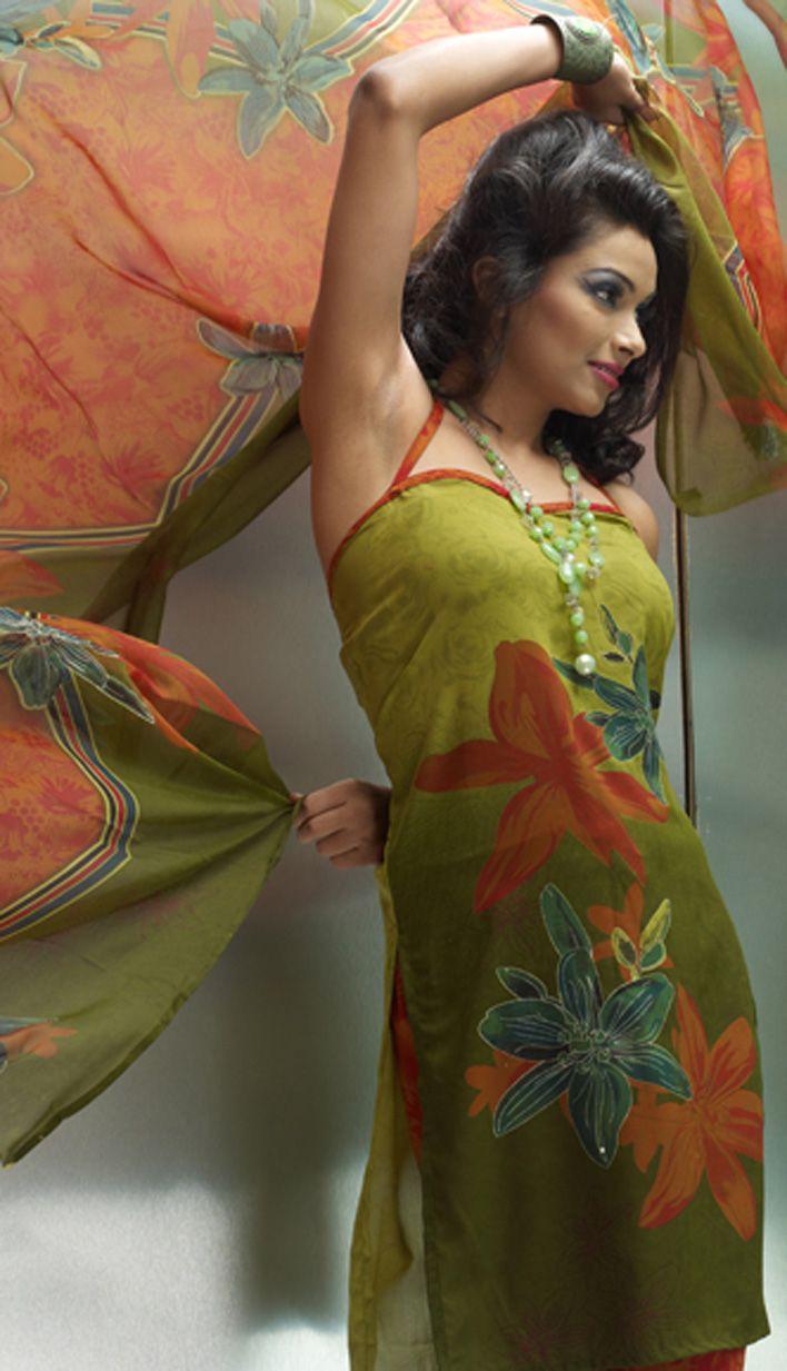 Shop Mehandi Green Crepe #ChuridarPrintedSuit Product code: KPS-17709 Price: INR 1082 (Unstitch Suit), Color: Mehandi Green Shop Online now: http://www.efello.co/salwar-kameez_Mehandi-Green-Crepe-Churidar-Printed-Suit_18345