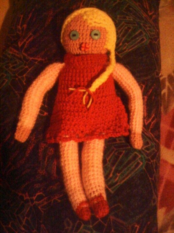 Плетена кукла