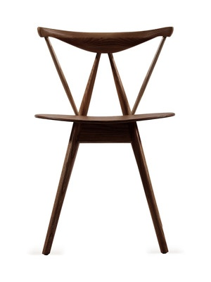 Mercer Brown Wood Modern Dining Chairs (Set Of 2) By Design Studios On Gilt