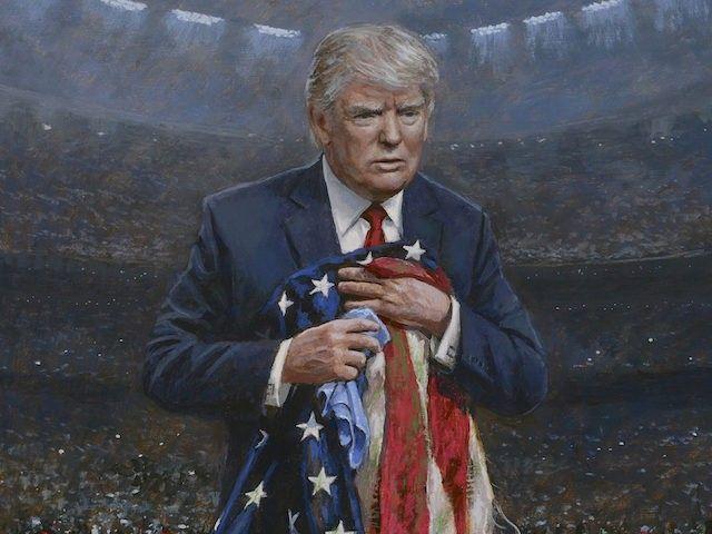 Jon McNaughton Respect the Flag