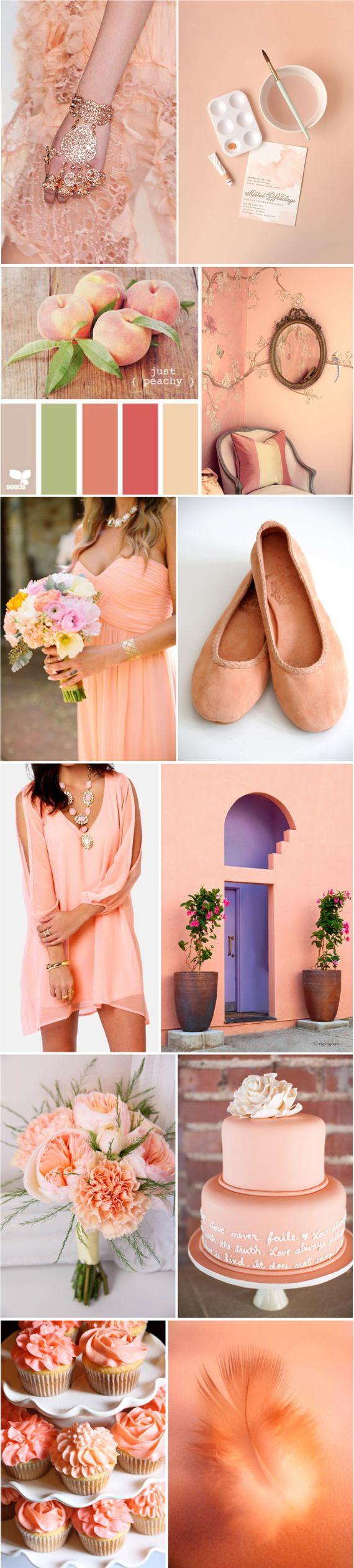 Персиковые цвета