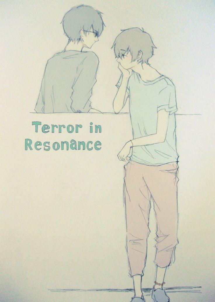 Zankyou no Terror, fan art: Nine and Twelve