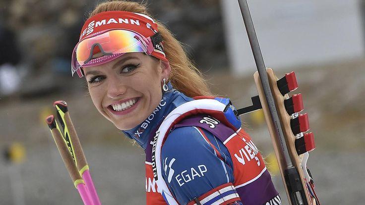 Biathlon-Spektakel im Massenstart: Koukalova toppt furiose Dahlmeier