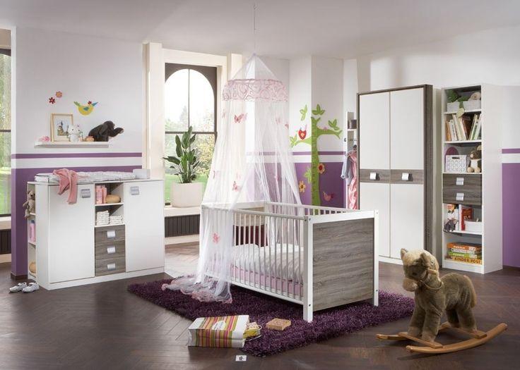 Spectacular Babyzimmer komplett Alpinwei Montana Eiche Buy now at https moebel wohnbar de babyzimmer komplett jette kinderzimmer tlg weiss monta u