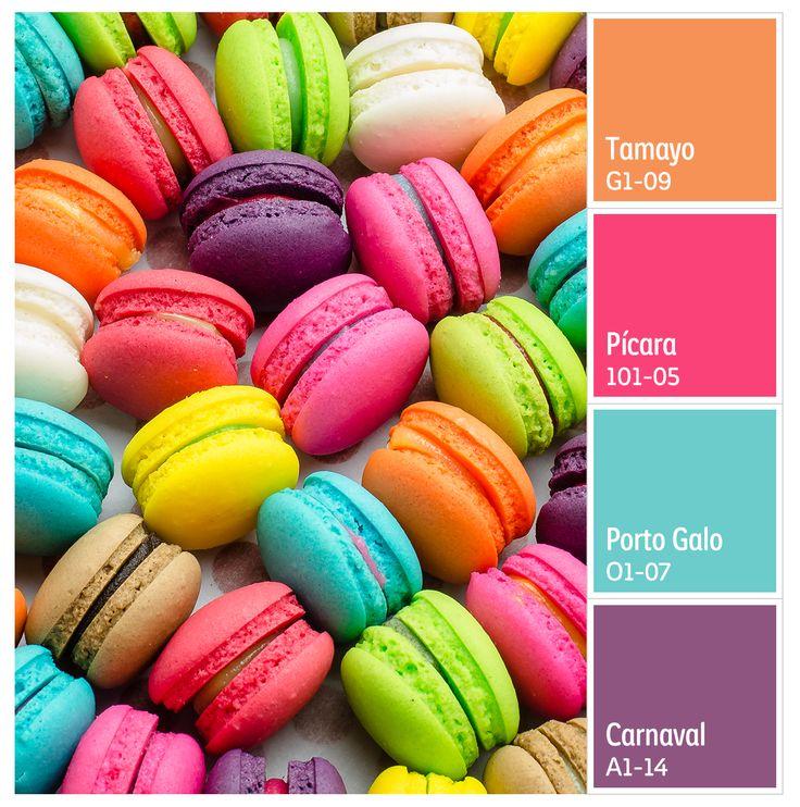 Deliciosos colores.