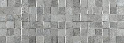 Shower Tile Porcelanoa Mosaico Rodano Acero Basement
