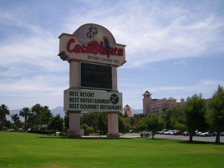 Casablanca Resort & Casino.  Mesquite, Nevada.