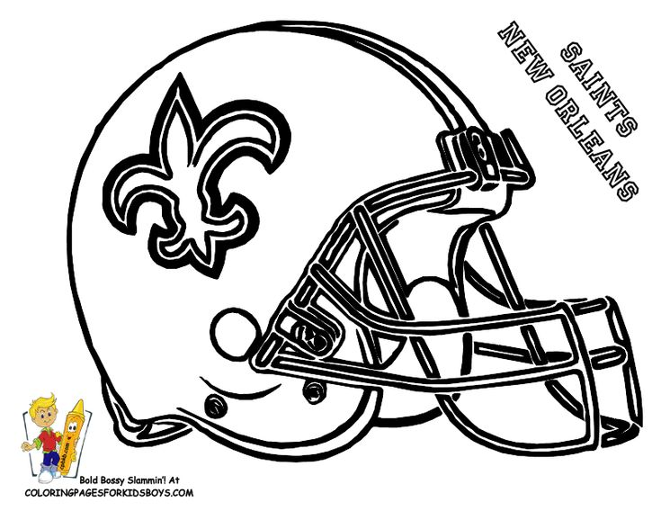 39 best Fearless Free Football Coloring Pages images on Pinterest
