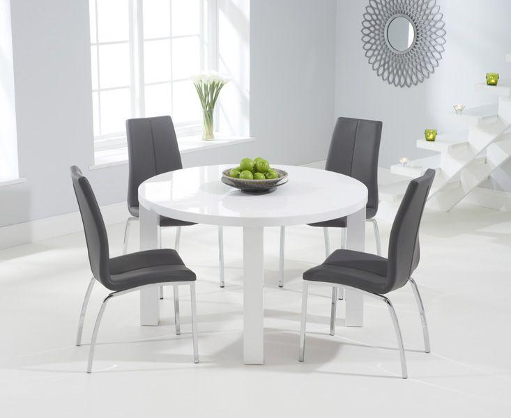 45++ Elegant grey round dining table Inspiration