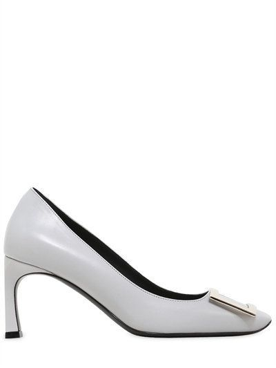 ROGER VIVIER 70Mm Trompette Leather Pumps a29d4efe0b904