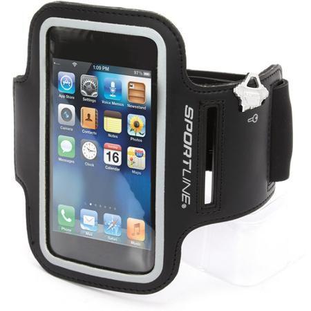 Sportline Smart Phone Holder Armband, Large, Black - Walmart.com