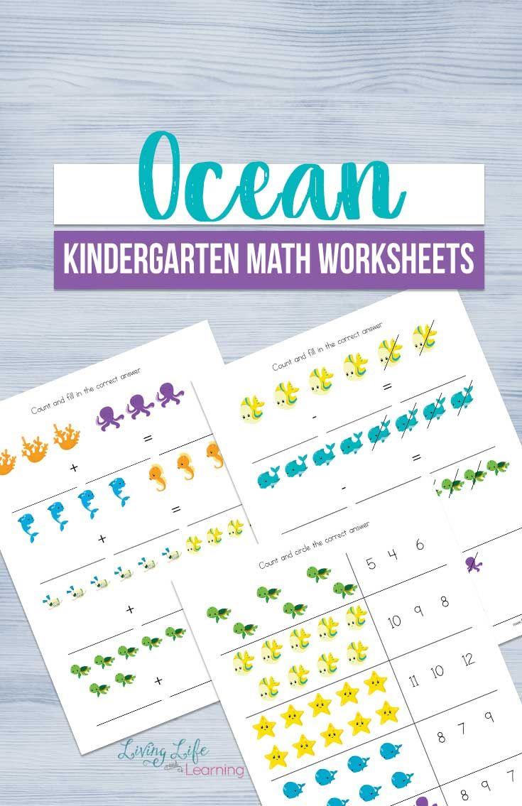 Ocean Kindergarten Math Worksheets Kindergarten Math Worksheets Math Worksheets Kindergarten Math Worksheets Counting [ 1135 x 735 Pixel ]