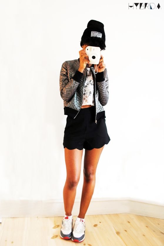 sportylook - monochrome outfit for hybrida blog
