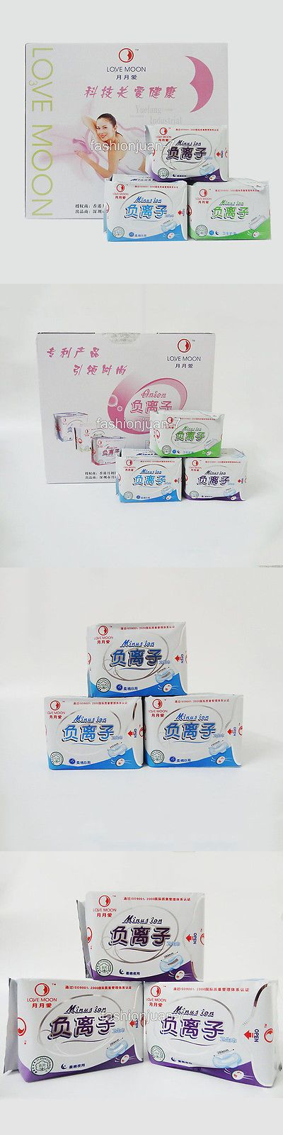 Sanitary Napkins: 19Package Winalite Lovemoon Anion Sanitary Napkin No Fluorescent Agent Anion Pad BUY IT NOW ONLY: $85.85