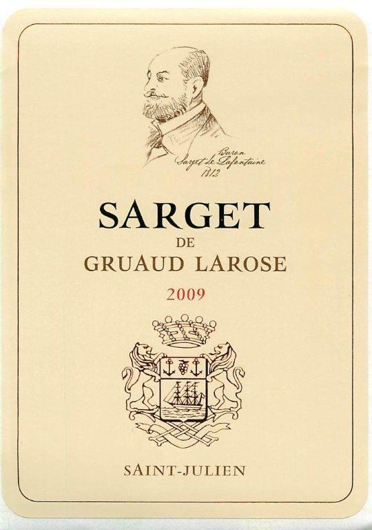 Gruaud Larose / Saint Julien / Sarget
