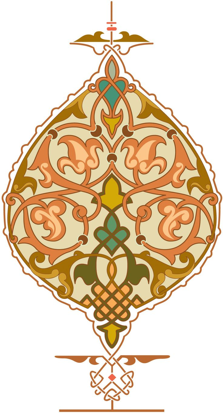 8-Arabesque (Islamic Art)