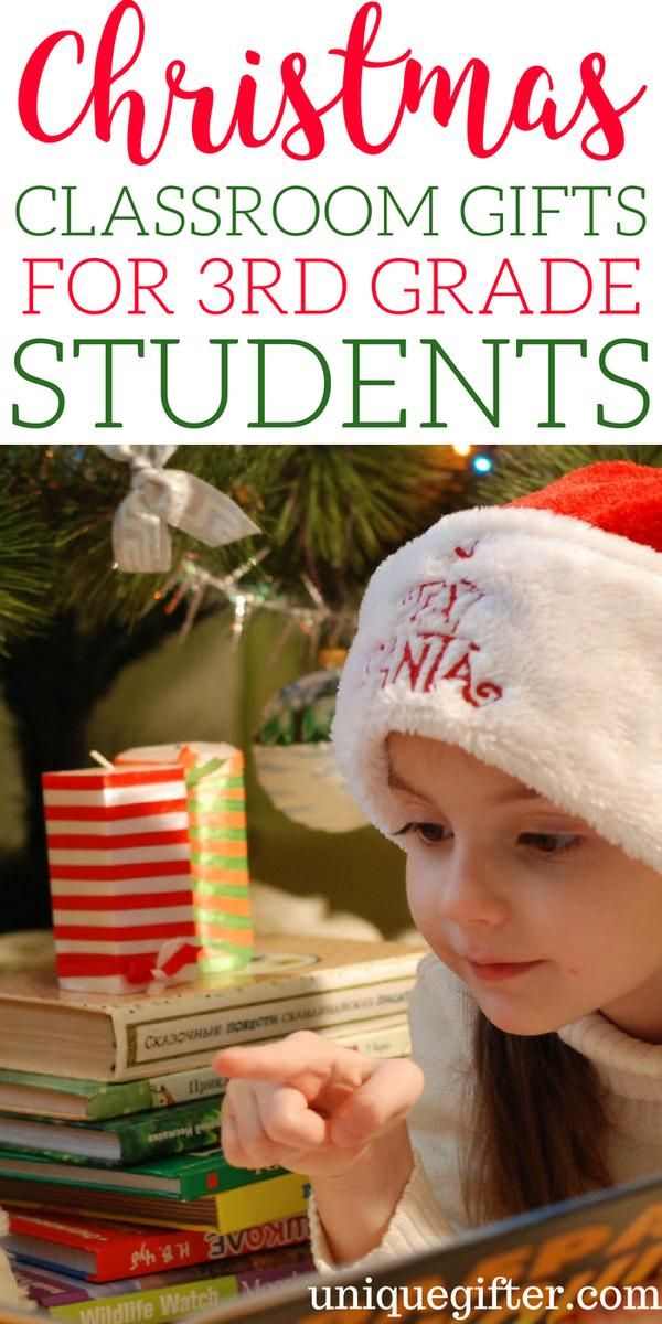 Christmas Classroom Gifts For 3rd Grade Students Holidays Gift