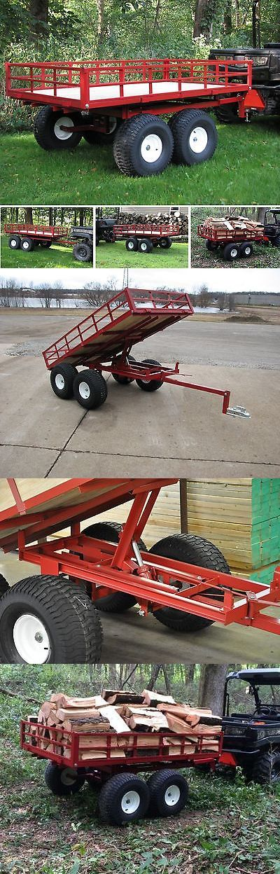 Other Garden Tools and Equipment 3186: Utv Trailer For Gators Side By Side Trailer 2500Lb Capacity 7740Utv With Dump -> BUY IT NOW ONLY: $1398 on eBay!