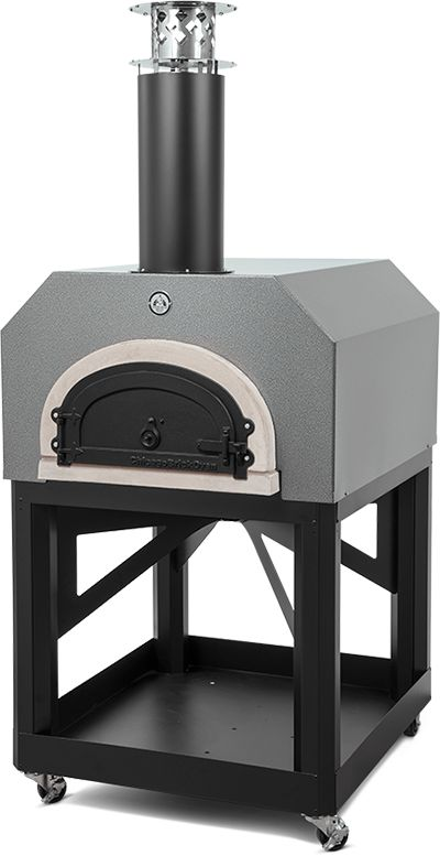 outdoor pizza oven with stand wood fired chicago brick oven mobile