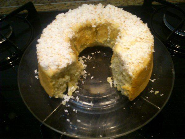 Receita Culinárias - bolo de coco diet