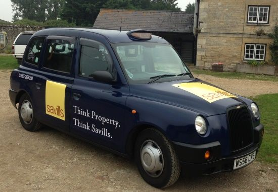 Oxford Taxi Advertising