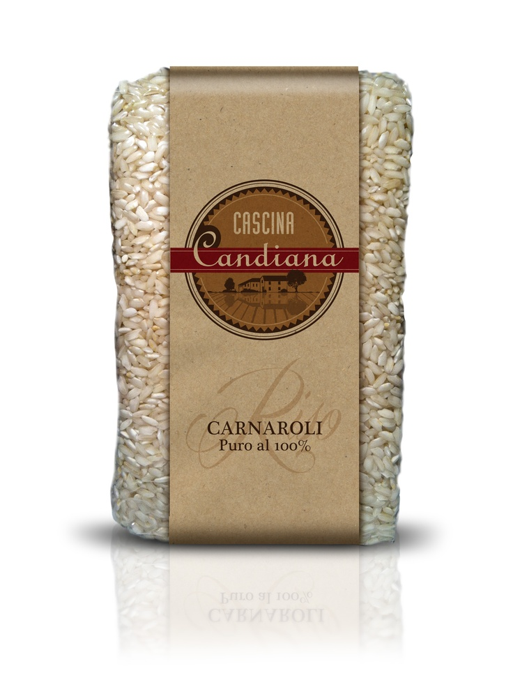 Italian CARNAROLI Rice Cascina Candiana Pavia #Italy #rice #packaging #design j-think.com